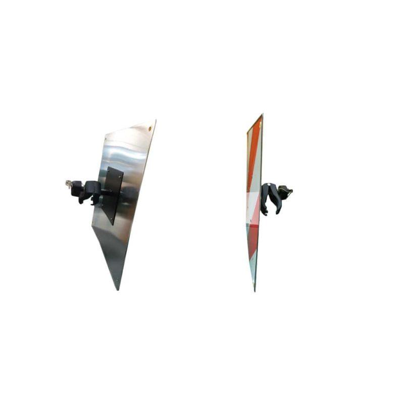 Placa V20 para Portabicicletas plegable TransBike con Brazo y Llave