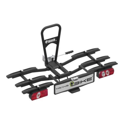 Portabicicletas Plegable para 3 bicis TransBike 3 abierto