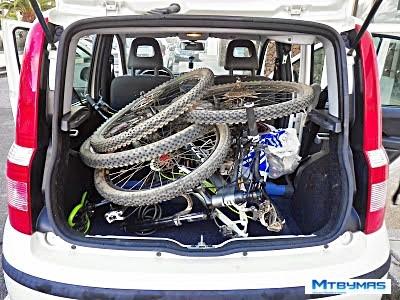 transbike llevar bicis sueltas en coche